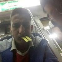 Photo taken at Al Shohadaa Metro Station by Ziad E. on 4/7/2016