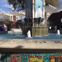 Photo taken at Winter Garden Village Fountain by Herman O. on 3/8/2015