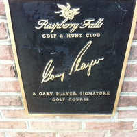 Photo taken at Raspberry Falls Golf & Hunt Club by Liam D. on 5/4/2013