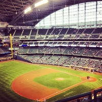Photo taken at Miller Park by Neftali R. on 6/7/2013
