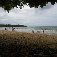 Photo taken at Pantai Tanduau,Sungai Merah by MOHD HAFEZ A. on 1/1/2013