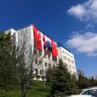 Photo taken at Başkent Üniversitesi by Umut E. on 3/18/2013