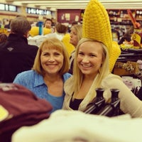 Photo taken at Cobber Bookstore by Gia R. on 9/24/2012