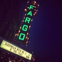 Photo taken at Fargo Theatre by Gia R. on 10/9/2012