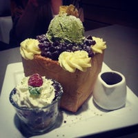 Photo taken at What8ver Cafe by Jeanette Y. on 2/22/2014