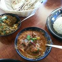 Photo taken at Tarka Indian Kitchen by Barron F. on 5/11/2013