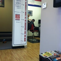 Photo taken at Big League Barbers by Carl J. on 4/7/2013