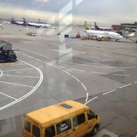 Photo taken at Выход 32 / Gate 32 (D) by Ray F. on 10/8/2012