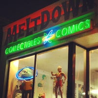 Photo taken at The Nerdist Theatre at Meltdown Comics by trice the afrikanbuttafly on 12/24/2012