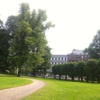 Photo taken at Slottsparken by Tove M. on 7/9/2013