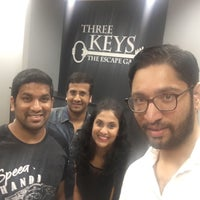 Photo taken at Three Keys Escape Game by Mownika B. on 7/23/2016