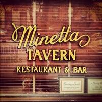 Photo taken at Minetta Tavern by Noah F. on 10/25/2012