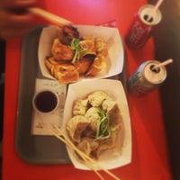 Photo taken at Dumpling Man by Noah F. on 12/31/2012