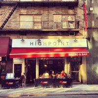 Photo taken at Highpoint Bistro & Bar by Noah F. on 4/25/2013