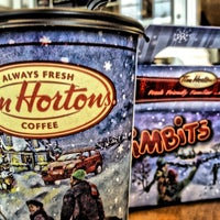 Photo taken at Tim Hortons by Christian G. on 1/11/2013