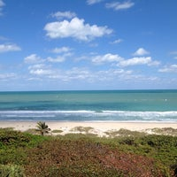 Photo taken at Tiara Towers Private Beach by Kathi R. on 3/14/2014