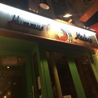 Photo taken at Hummus Kitchen by Jessica L. on 1/13/2017