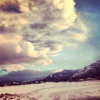 Photo taken at Teton Village by Jesse P. on 2/18/2013