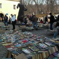 Photo taken at Книжковий ярмарок біля Федорова by Mashunka on 3/6/2013