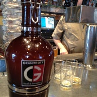 Photo taken at Granite City Food & Brewery by Josh C. on 5/1/2013
