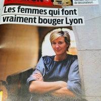 Photo taken at Tribune De Lyon by Vero L. on 3/6/2013
