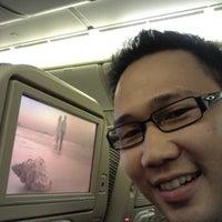 Photo taken at EY471 CGK-AUH / Etihad Airways by novan a. on 11/26/2012