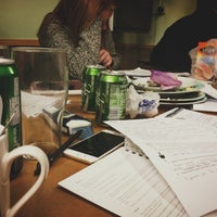 Photo taken at Journey King's Cross Hostel by Marina Г. on 12/8/2014