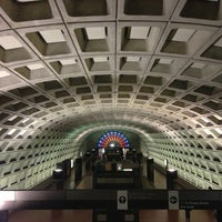 Photo taken at Gallery Place - Chinatown Metro Station by Karina N. on 1/23/2013