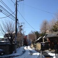 Photo taken at 善光寺坂 by Yohshiaki Y. on 1/15/2013