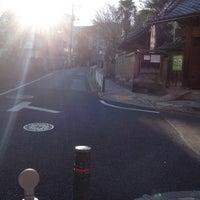 Photo taken at 善光寺坂 by Yohshiaki Y. on 12/24/2012