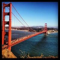 Foto tirada no(a) Ponte Golden Gate por Diogo D. em 6/21/2013