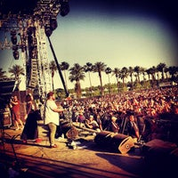Photo taken at Coachella Outdoor Theatre by Michael C. on 4/20/2013