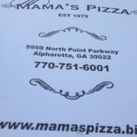 Photo taken at Mama's Pizza by Shareka C. on 9/9/2014