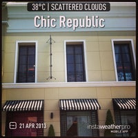 Photo taken at Chic Republic by Prada~* on 4/21/2013