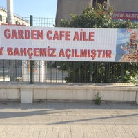 Photo taken at Garden Beach Cafe by Sinan Ö. on 7/24/2014