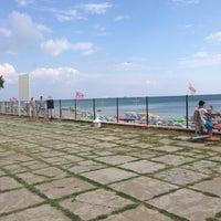 Photo taken at Garden Beach Cafe by Sinan Ö. on 7/25/2014