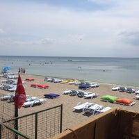 Photo taken at Garden Beach Cafe by Sinan Ö. on 8/2/2014