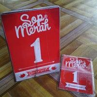 Photo taken at Sop Merah by M Prasetya A. on 9/23/2013