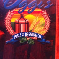Photo taken at Oggis Pizza & Brewing Co. by Jessica D. on 9/30/2012