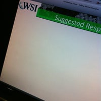 Photo taken at WSI Marketing Digital by Thais L. on 10/16/2013