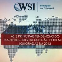 Photo taken at WSI Marketing Digital by Thais L. on 12/5/2012