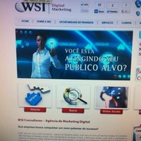Photo taken at WSI Marketing Digital by Thais L. on 12/14/2012