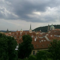 Photo taken at Ledeburská zahrada   Ladeburg Garden by Hana O. on 6/8/2013