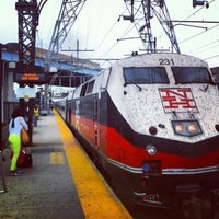 Photo taken at Bridgeport Train Station (BRP) - Metro North & Amtrak by Robert S. on 9/1/2013