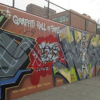 Photo taken at Graffiti Hall Of Fame by Johan S. on 1/27/2013