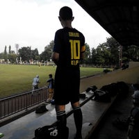 Photo taken at Stadion labda prakasa nirwakara by Wulandari M. on 1/17/2015