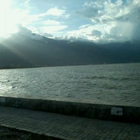 Photo taken at Pantai Talise by Denny S. on 12/25/2012