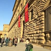 Photo taken at Pitti Palace by valenti m. on 3/16/2013