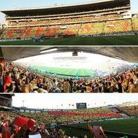 Photo taken at Estadio Morelos VIP by Rafael V. on 4/30/2017