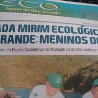 Photo taken at O Eco Jornal da Ilha Grande by Karen G. on 6/14/2015